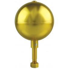 """3"""" Gold Aluminum Ball"""
