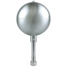 "3"" Satin Aluminum Ball"