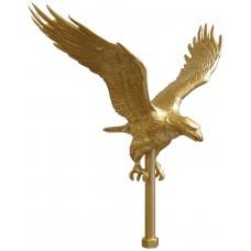 "11"" Gold Eagle Ornament"