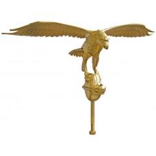 "24"" Gold Eagle Ornament"