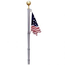 20' Aluminum Telescoping Flagpole