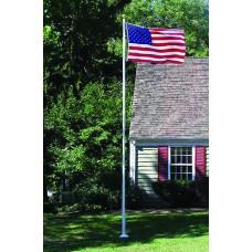 20' Fiberglass 3-Piece Flagpole