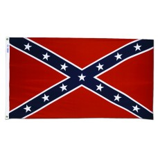 3x5' Lightweight Polyester Confederate (Rebel) Flag