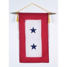 2 Blue Star Service Banner