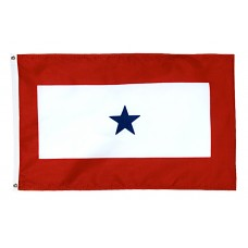 1 Blue Star Service Flag