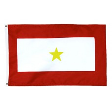 1 Gold Star Service Flag