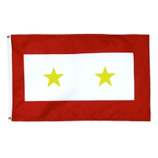 2 Gold Star Service Flag
