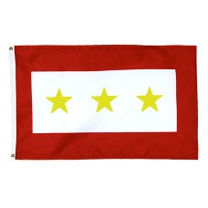 3 Gold Star Service Flag