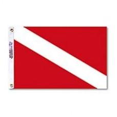 """12x18"""" Nylon Dive Flag"""